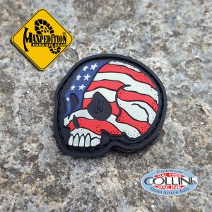 Maxpedition - Morale Patch - Stars and Stripes Skull Glow - Gadget