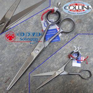 Dovo -  715-556 Plain Hair Shear SS 5 1/2″ plus finger rest