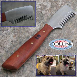 Collini - Pet Stripping knife  - 10 - coarse