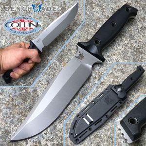 Benchmade - Sibert Arvensis 119 Knife Black G-10 - Knife