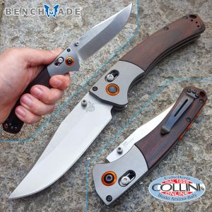 Benchmade - Hunt Crooked River 15080-2 Axis Lock Knife Dymondwood - Knife