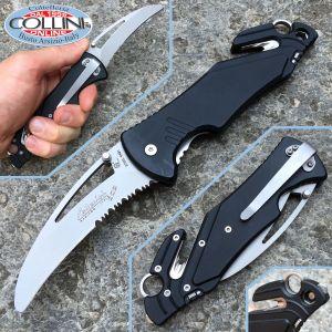 Antonini Knives - ARA XL SoS Rescue Black knife - knife