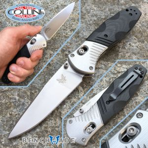 Benchmade - Osborne Barrage G10 and aluminum - 581 - folding knife