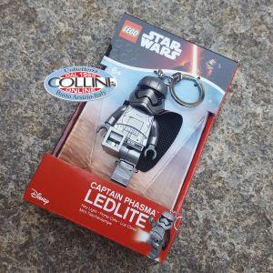 LEGO Star Wars - Capitano Phasma - Portachiavi LED - torcia a led