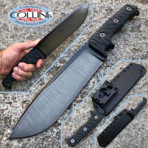 Wander Tactical - Dimorphodon - Raw Finish & Black Micarta - craft knife