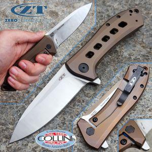 Zero Tolerance - Todd Rexford Flipper Folder Bronze - ZT0801BRZ - knife