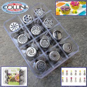 Decora - Direct flowers nozzles box set