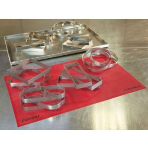 Pavoni - Round stainless steel band monoportions 11CM - PROGETTO CROSTATE XF1120