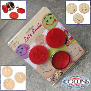 Stadter - Let's Smile Cookie Cutter with Ejector