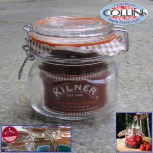 Kilner - Square 0.5L Clip Top Glass Storage Jar