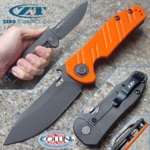Zero Tolerance - Emerson Clip Point - ZT0630ORBLK - Orange G10 Sprint Run - knife