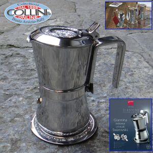 Giannini - 3 Coffee maker  with Swarovski - Limited Edition