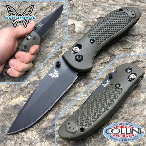 Benchmade - Pardue Griptilian - Drop Black - Green - 551BKOD - folding knife