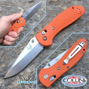 Benchmade - Pardue Griptilian Marine - Drop - Orange - 551H20 - folding knife