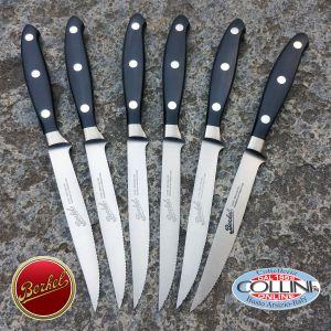 Berkel - Set 6 cuchillos de carne forjadas - Cuchillos de mesa