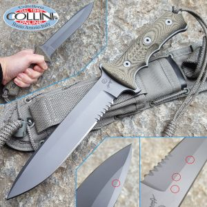 """Chris Reeve - Green Beret Combat 7 """"- second choice and not packaged - knife"""