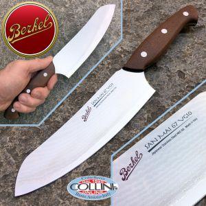 Berkel - San Mai VG10 67strati - Santoku knife 18 cm - kitchen knife