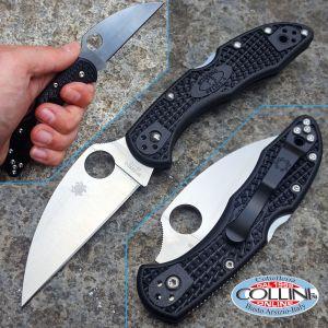 Spyderco - Delica - Wharncliffe Plain - C11FWCBK - knife