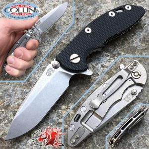 """Rick Hinderer Knives - XM-18 - Spearpoint 3.0 """"Black - semi custom knife"""