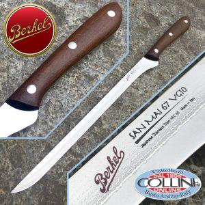 Berkel - San Mai Knife VG10 67 layers - Ham knife 26 cm - kitchen knives