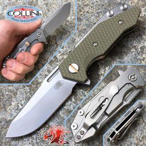 Rick Hinderer Knives - Half Track G10 Green - semi custom knife