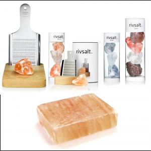 Rivsalt - TASTE Jr -Taster-pack  of six gemstone-like salt rocks