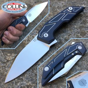 Fox - Phoenix knife by Tashi Bharucha - Blue - FX-531TIBL - knife
