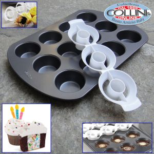 Wilton - Two Tone Cupcake Baking Set