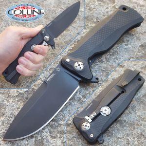 Lionsteel - SR-11 - PVD & black aluminum - SR11ABB - knife