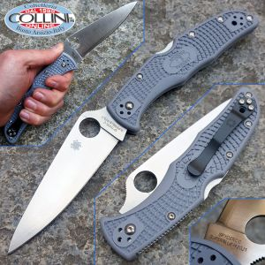 Spyderco - Endura Flat Ground - Super Blue Sprint Run - C10FPGYE - knife