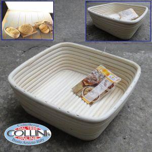Birkmann - Square dough rising basket 23x23cm