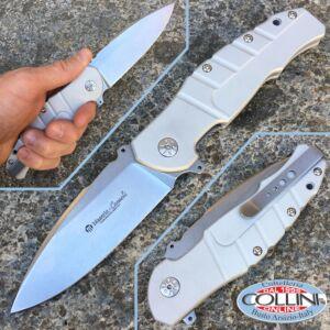 Maserin - Pitbull - Silver - Design by Sergio Consoli - 404/A - knife