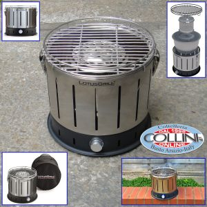 LotusGrill - The smokeless charcoal mini grill