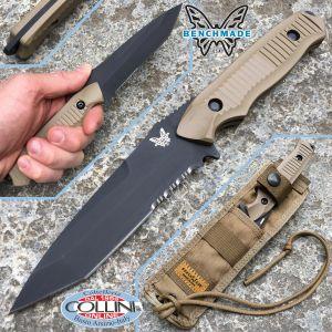 Benchmade - Nimravus Tanto Sand Knife 141SBKSN - Knife