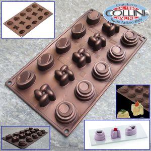 Pavoni - Silicone mold Pavoflex Home edition 15 servings