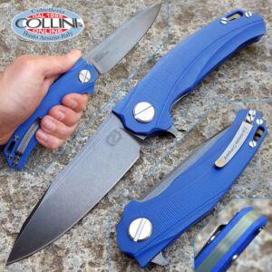 Stedemon Knife Co. - ZKC D01 Blue Flipper - STEZKC01SW - Knife