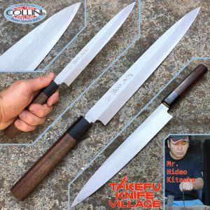 Takefu Village - Yanagiba Sashimi Knife 240mm by Mr. Hideo Kitaoka - kitchen knife
