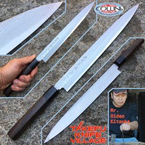 Takefu Village - Yanagiba Sashimi Knife 270mm by Mr. Hideo Kitaoka - kitchen knife