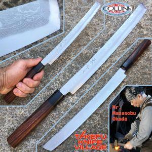 Takefu Village - Takobiki Knife 270mm by Mr. Masanobu Okada - kitchen knife