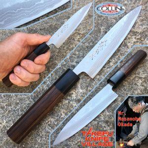 Takefu Village - Petty Utility Knife 120mm by Mr. Masanobu Okada - kitchen knife
