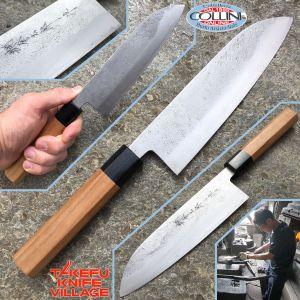 Takefu Village - Santoku Knife 180mm by Mr. Kanehiro Kintaro - kitchen knife