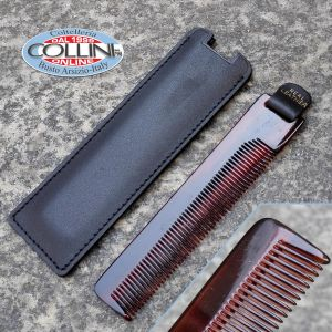 No Brand - Comb with Leather Sheath