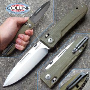 Lionsteel - Big Daghetta by Max - G10 Green - 8710GR - knife