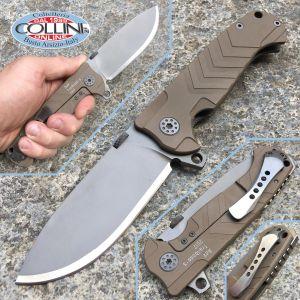 Andre De Villiers ADV - Trailboss S Barret Brown Knife