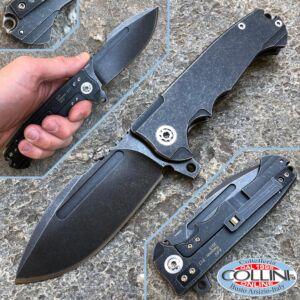 Andre De Villiers ADV - Harpoon F17 Black knife - knife