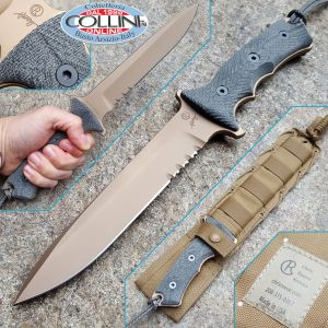 """Chris Reeve - Green Beret 7"""" Dark Earth by W. Harsey - 2017 Version - knife"""