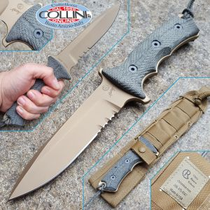 """Chris Reeve - Green Beret 5.5"""" Dark Earth by W. Harsey - 2017 Version - knife"""