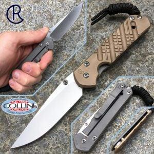 Chris Reeve - Small Sebenza 21 Cross Hatch - knife