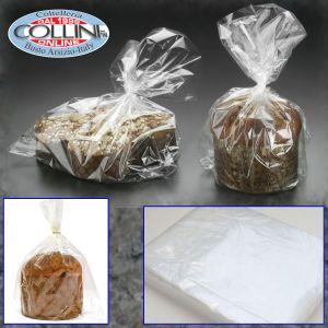 Decora - Bakery - Set 100 Transparent Bags 35X50 cm