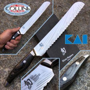 Kai Japan - Shun Nagare NDC-0705 Coreless Steel - Bread knife 230mm. - kitchen knives